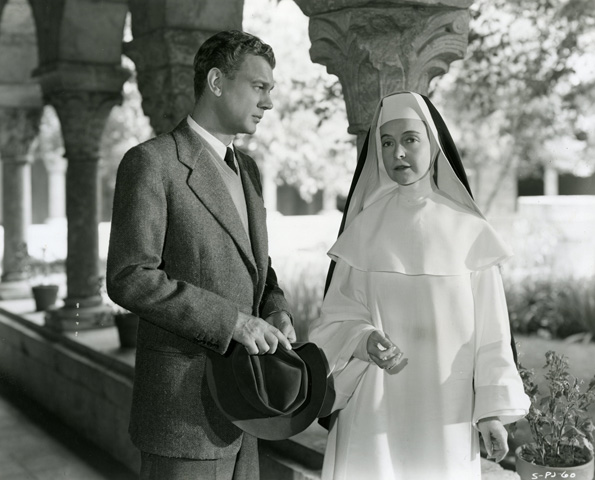 Lillian Gish gives Joseph Cotten the cold, unvarnished Truth. Image: Metropolitan Museum
