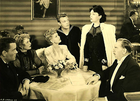 Billie Burke (2nd from left, seated) sdkfj asdlfkj sd Image: skdjf