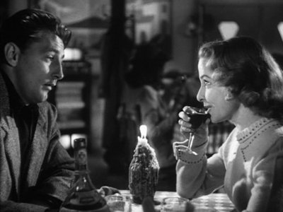 Robert Mitchum (left) blah blah Image: