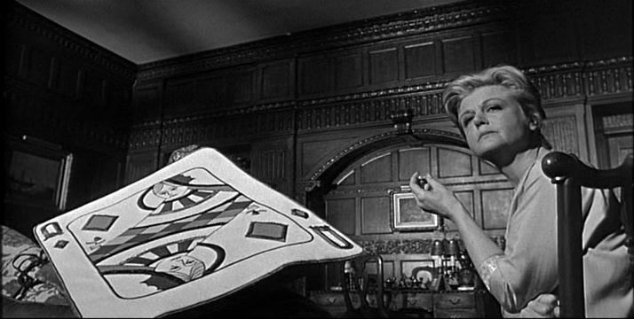 Angela Lansbury and her twin, the Queen of Diamonds. Image :morethings.com