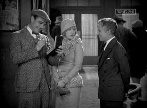Marian Davies is annoyed with Charles Chaplin (right). Image: asldkfj asdlkfj asdf