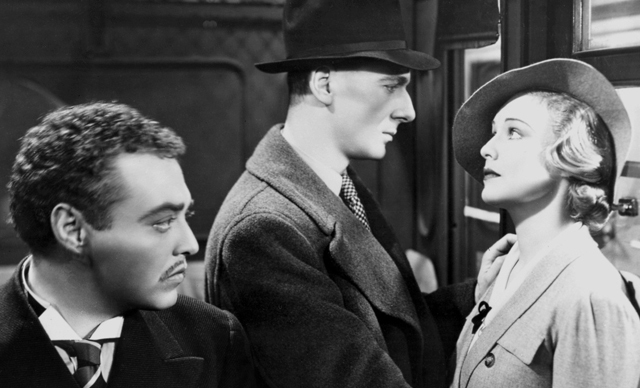 Peter Lorre (left) gives Madeline Carroll the stink eye. Image: lskdjf asdfkj