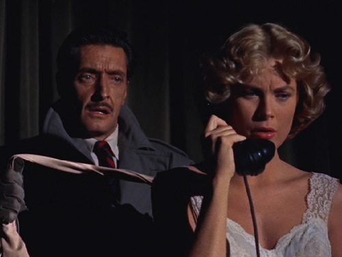 _____ can't wait for Grace Kelly to put the phone down. Image lsdkfj asd