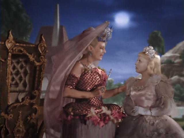 The Soviet fairy godmother instructs Zolushka to work hard. Image: sldkfj asdj