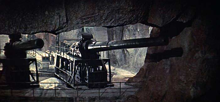 The guns of Navarone. They are Fierce! Image: GoneMovie.com