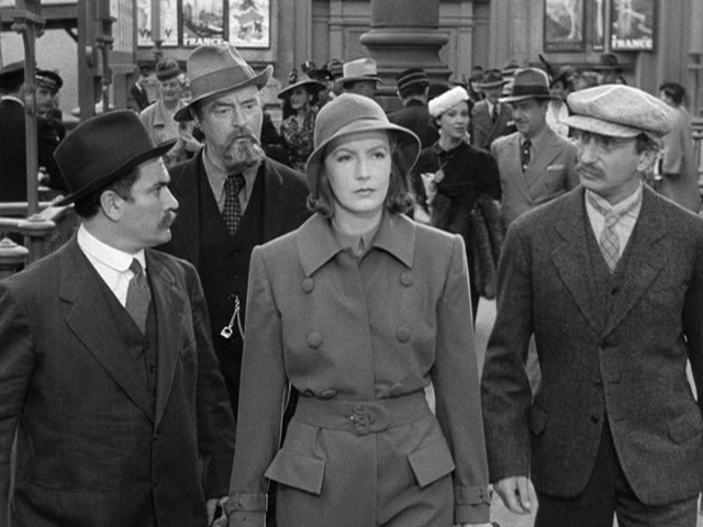 """We're here to work, Comrades."" Greta Garbo as Type A communist. Image: alkdsj flksd f"