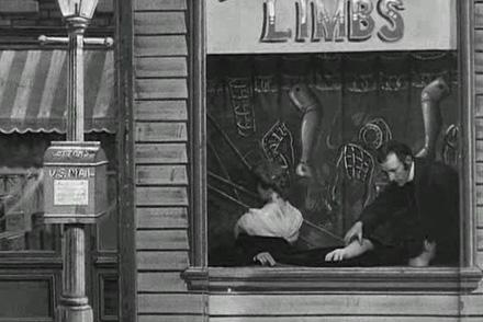 Business is brisk at the Limb shop. Image: alskdfj