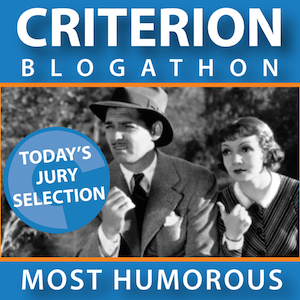 Most Entertaining (Humorous) Awarded to Make Mine Criterion