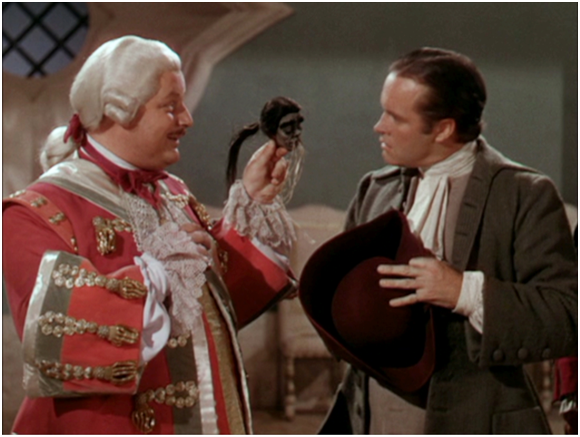 Walter Slezak brags about his head-shrinking talents. Photo: Forgotten Films