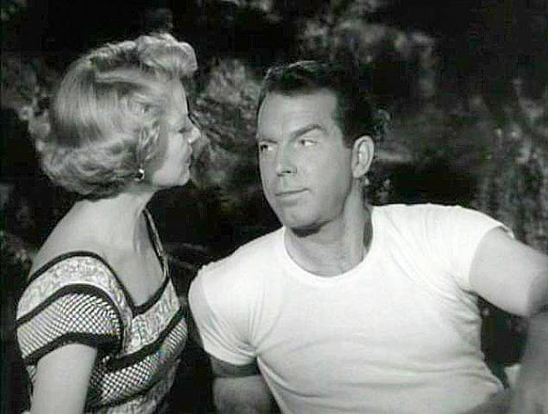 Fred MacMurray provides a little too much distraction. Image: