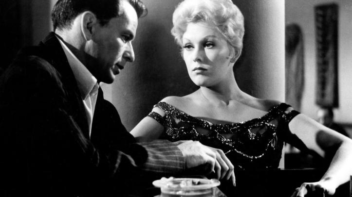 Kim Novak has a weary love for SInatra. Image: mubi.com