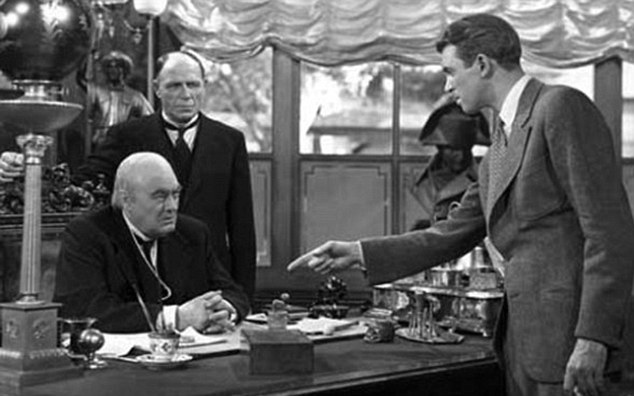 The law can't touch Lionel Barrymore (seated). Image: Daily Mail
