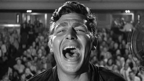 Andy Griffith in A Face in the Crowd (1957). Image: New York Times