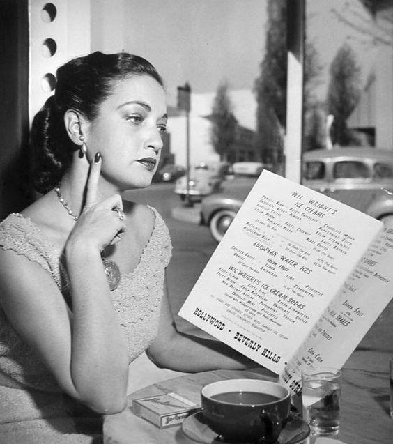 Dorothy Lamour Menu