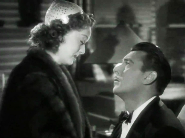 Davis asks for George Brent's forgiveness. Image: YouTube