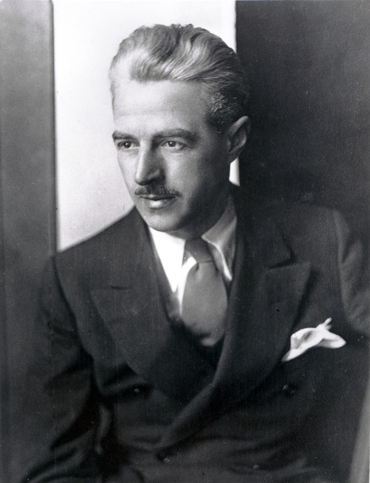 AP photo of Dashiell Hammett (1894-1961). Image