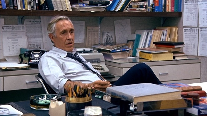 Jason Robards as Ben Bradlee in his office. Image: oscarchamps.com