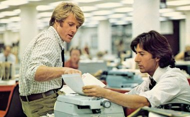 Robert Redford (left)... Image: New York Times