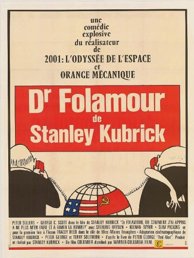 Lot 88: Dr Strangelove Movie poster (1964)