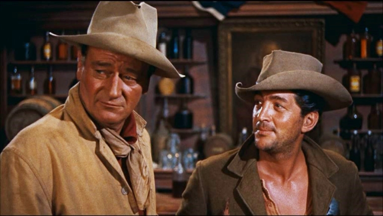 John Wayne and Dean Martin... Image: We Have Embarked