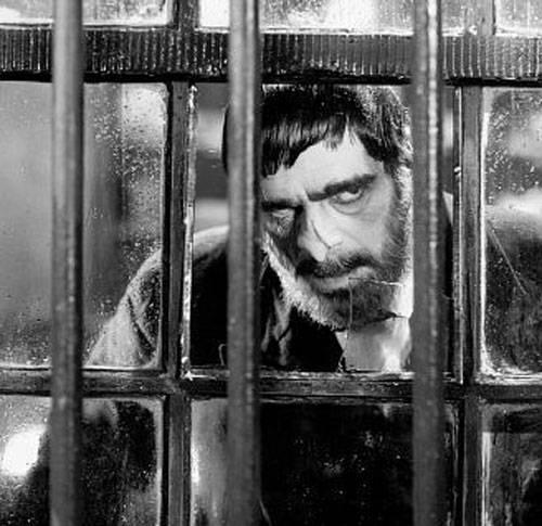 Boris Karloff keeps a menacing eye on the place. Image: Fandango