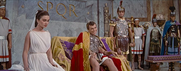 Caligula (_____, seated) living the dream as Roman Emperor. Image: Baúl del Castillo