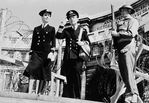 Taking a break from World War II. Image: Costume & Fashion