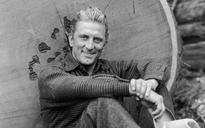 December 9, 2016 marks Kirk Douglas' 100th Brithday. Photo: Parade