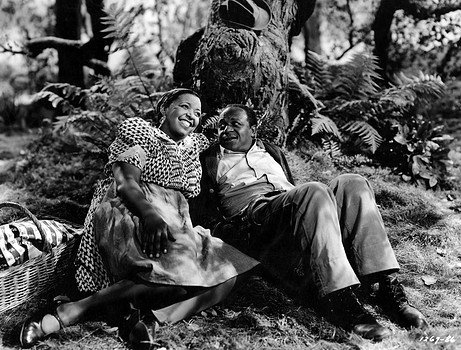 "Ethel Waters (L) tries to save Eddie ""Rochester"" Anderson from himself. Image: Yooniq Images"
