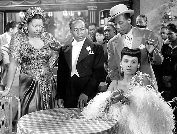Lena Horne (seated) is the boss and she knows it. Image: BAM