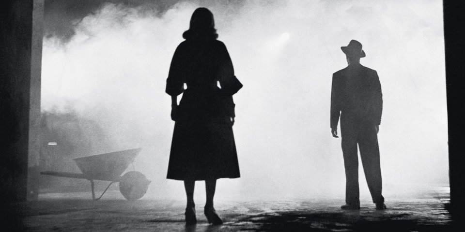 One of the most famous stills from film noir, The Big Combo (1955). Image: Open Culture