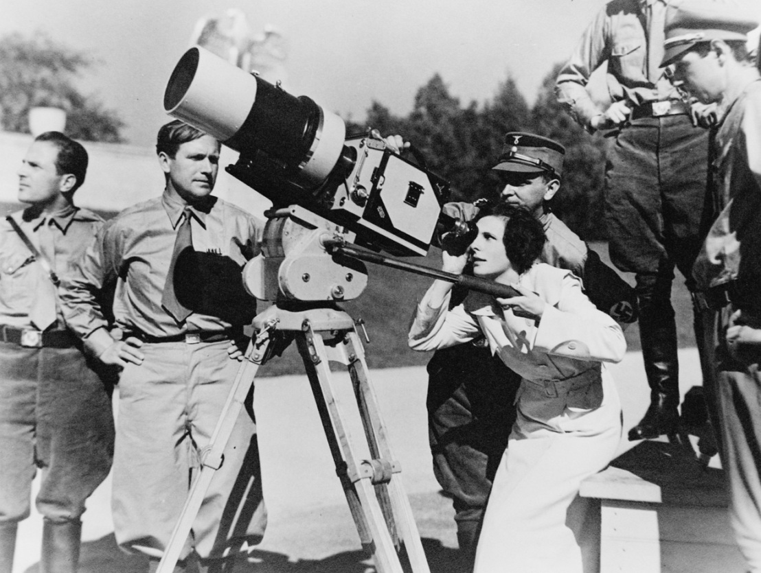Image result for triumph of the will leni riefenstahl